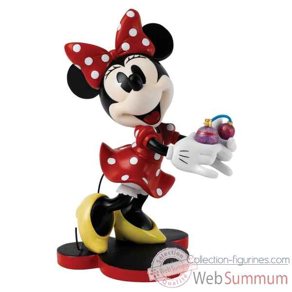 Date with minnie (minnie mouse with perfume) enchanting dis Figurines Disney Collection -A27029