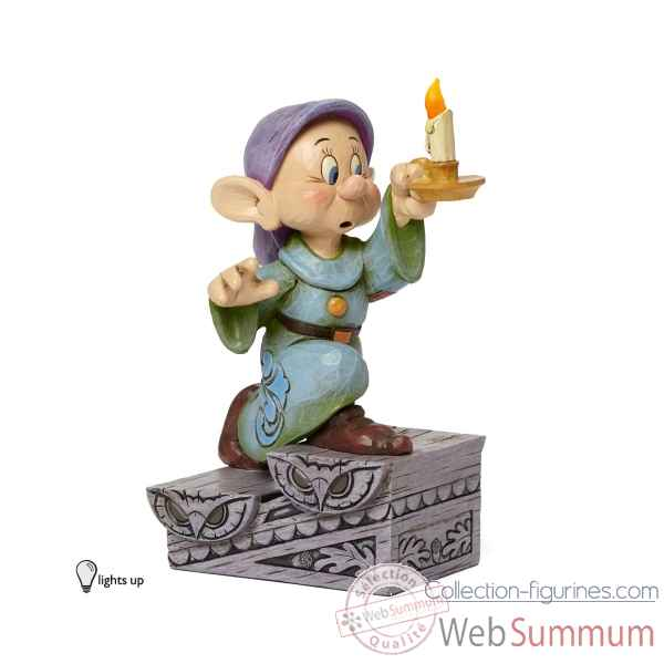 Dopey with candle Figurines Disney Collection -4043642