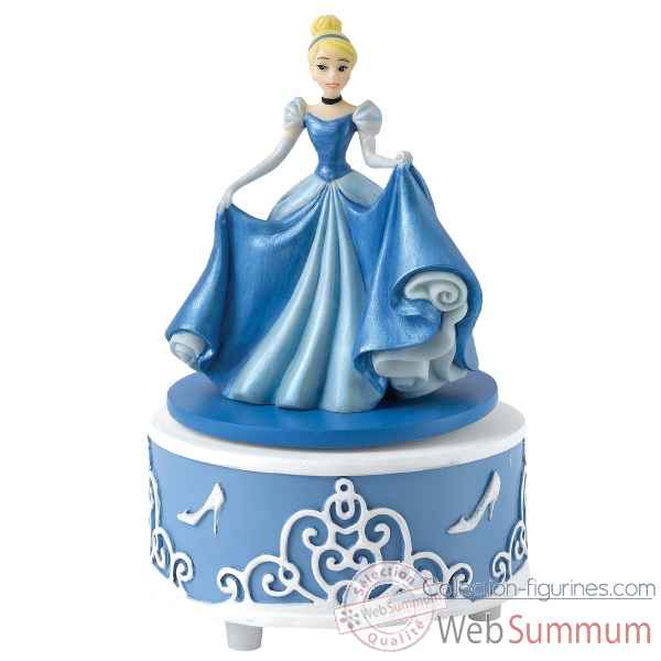 Statuette A dream is a wish cendrillon musical Figurines Disney Collection -A27166