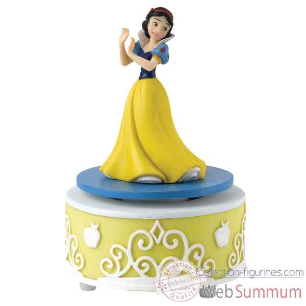 Statuette Dreams come true blanche neige musical Figurines Disney Collection -A27165