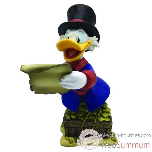 Statuette Duck tales oncle picsou Figurines Disney Collection -4055862