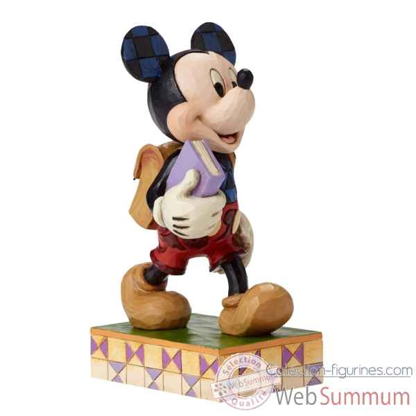 Statuette Eager to learn mickey mouse Figurines Disney Collection -4051995