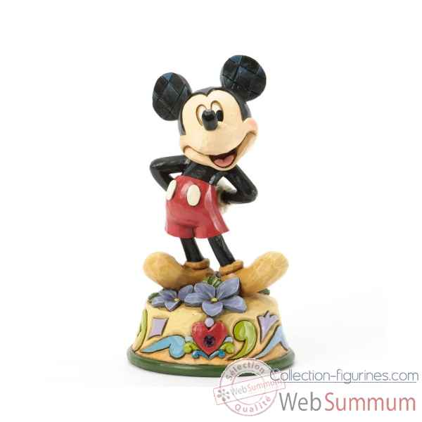 February mickey Figurines Disney Collection -4033959