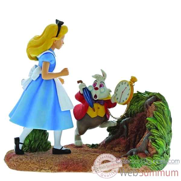Figurine alice in wonderland collection disney enchante -A29032
