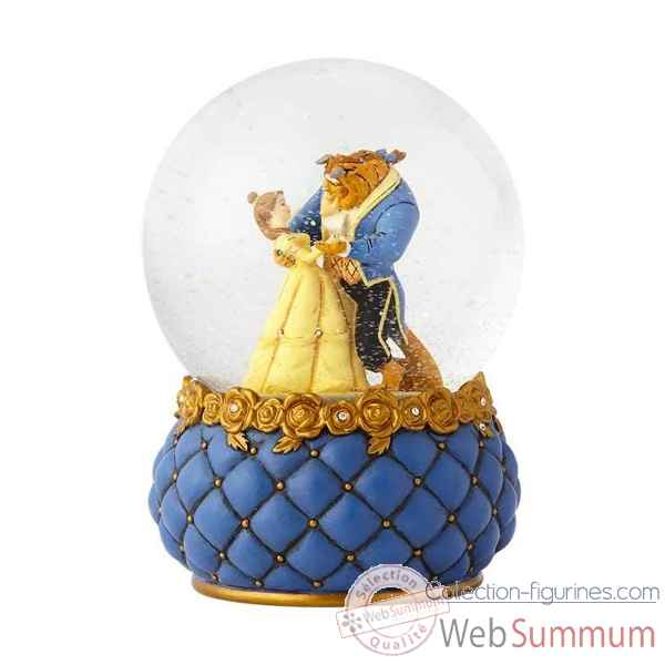 Figurine beauty and the beast waterball collection disney show -4060077