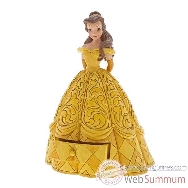 Figurine belle treasure keeper collection disney trad -A29503
