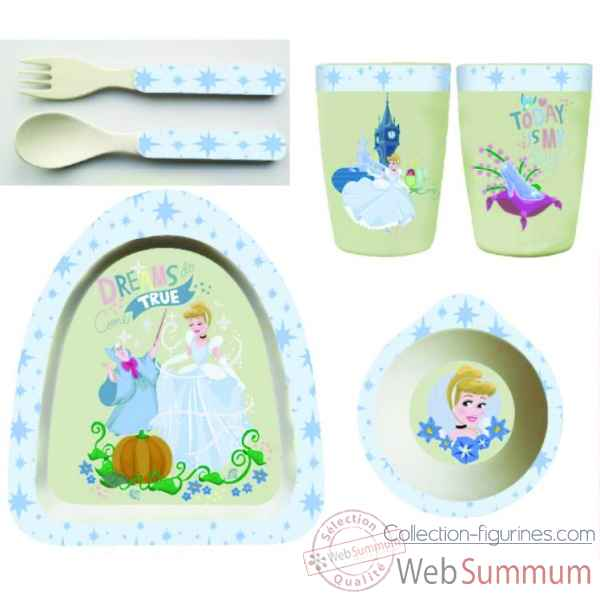 Figurine cinderella bamboo set collection disney enchante -A29237