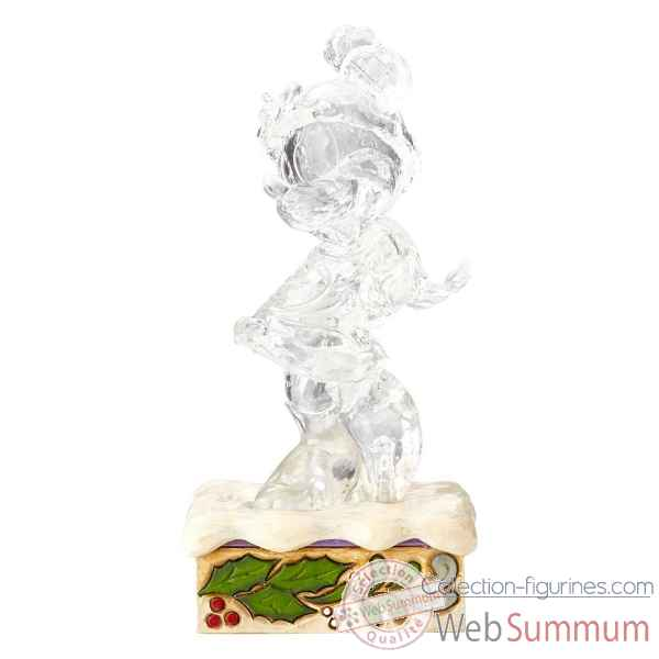 Figurine clear minnie mouse collection disney trad -4059925