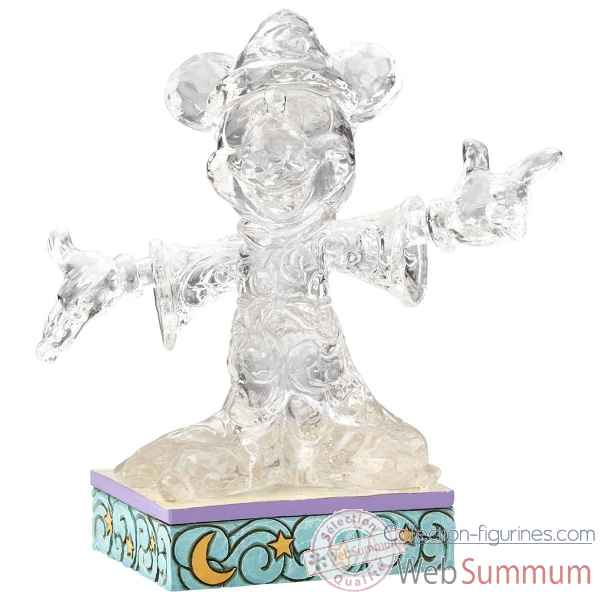 Figurine clear sorcerer mickey mouse collection disney trad -4059926