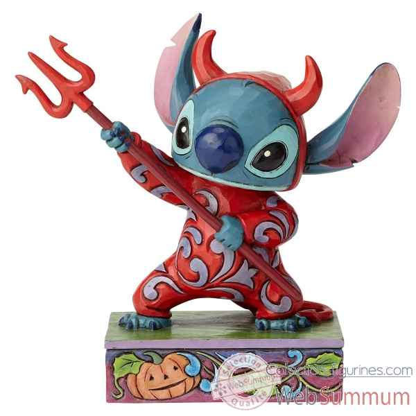Figurine devilish delight (stich ) collection disney trad -6000951