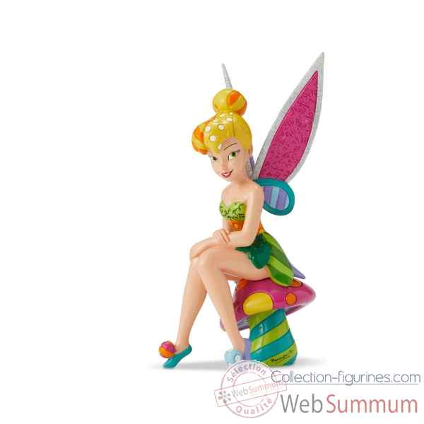 Figurine fee clochette tinker bell on mushroom disney britto -6001299