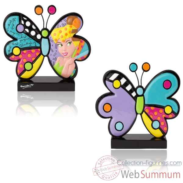 Figurine fee clochette tinkerbell butterfly icon disney britto -6001008
