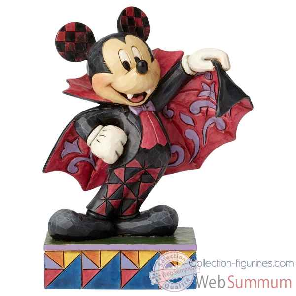 Figurine halloween mickey collection disney trad -6000950