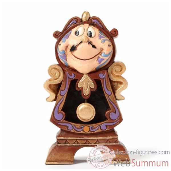 Figurine keeping watch (cogsworth) collection disney trad -4049621
