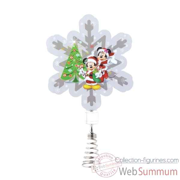 Figurine mickey and minnie mouse tree topper collection d56 disney collection -4058011