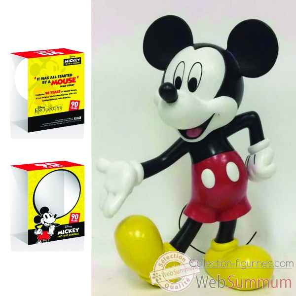 Figurine mickey mouse 90th birthday ltd edition fce spain italy collection disney enchante -A29143