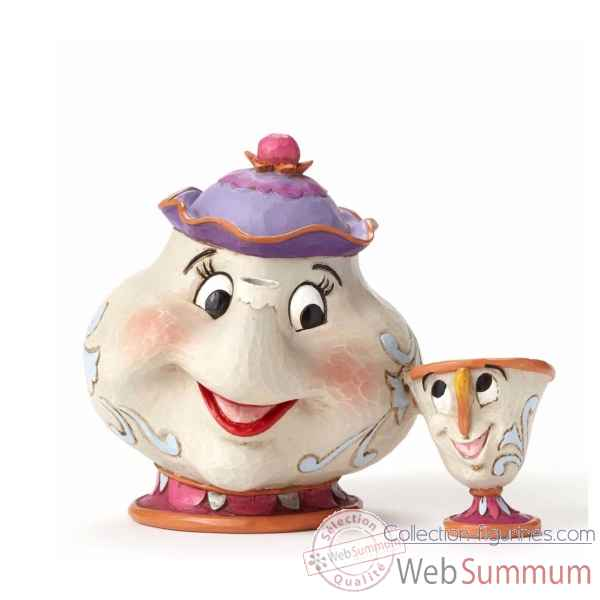 Figurine mrs potts and chip /t20 collection disney trad -4049622