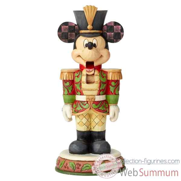 Figurine nutcracker mickey mouse collection disney trad -6000946