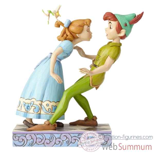 Figurine peter & wendy 65th anniversary piece collection disney trad -4059725
