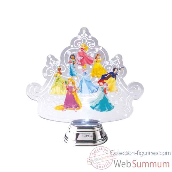 Figurine princesse crown holidazzler collection d56 disney collection -4058004