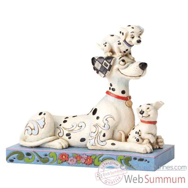 Figurine puppy love ongo with penny and rolly collection disney trad -4054278
