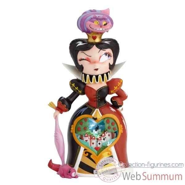 Figurine queen of hearts collection disney miss mindy -6001036