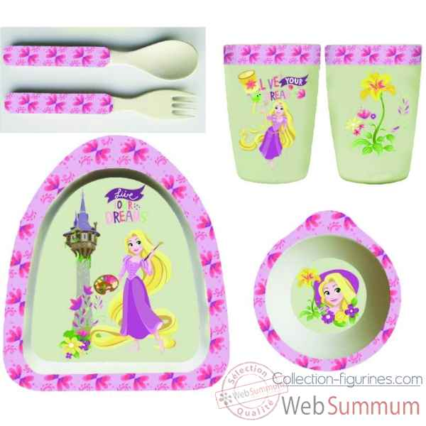 Figurine rapunzel bamboo set collection disney enchante -A29238