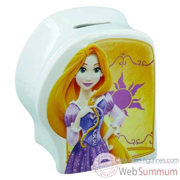 Figurine rapunzel money bank collection disney enchante -A28759