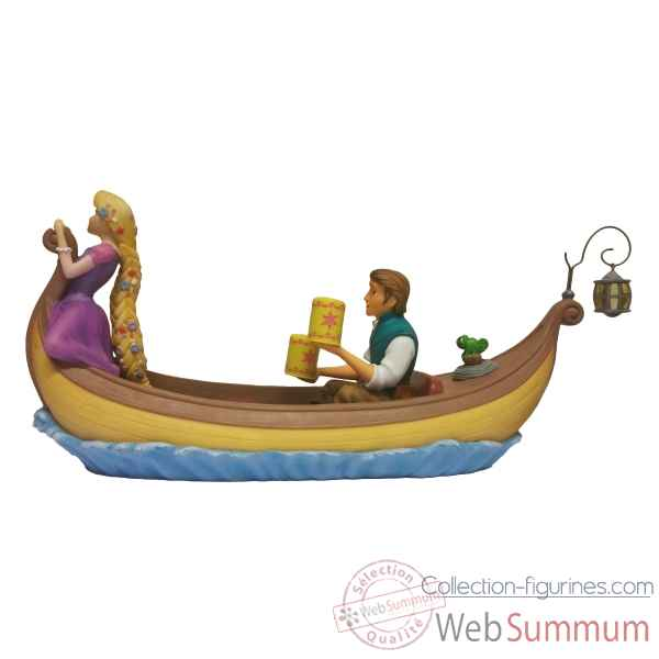 Figurine i see the light- rapunzel&flynn rider collection disney enchante -A28827