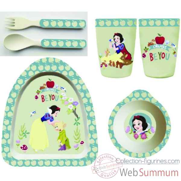 Figurine snow white bamboo set collection disney enchante -A29236