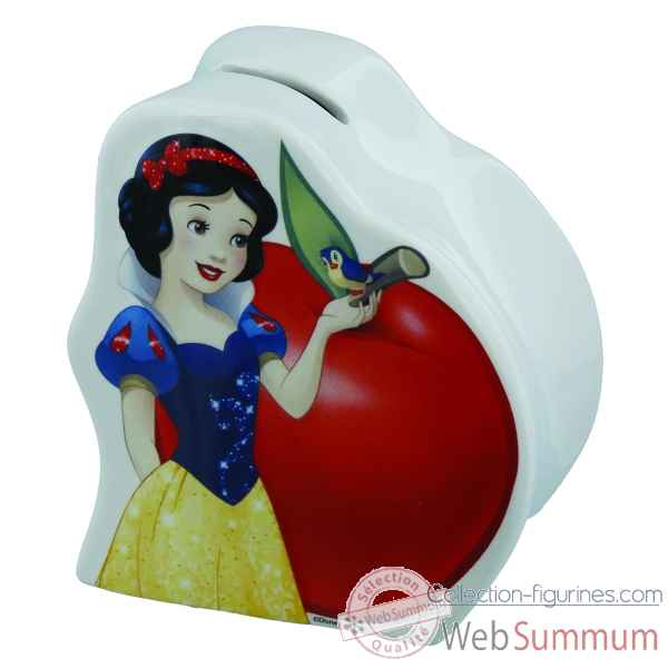 Figurine snow white money bank collection disney enchante -A28757