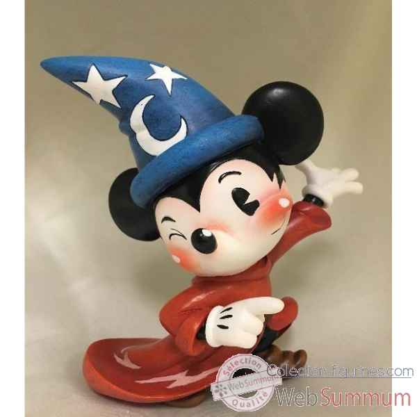 Figurine sorcerer mickey mouse collection disney miss mindy -6001164