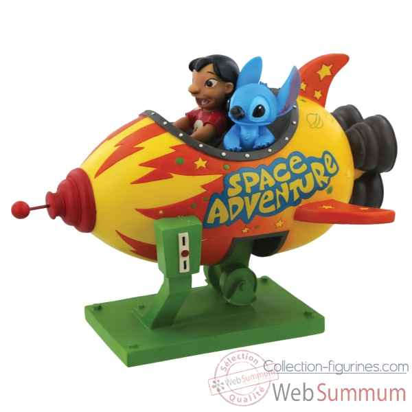 Figurine space adventure-lilo and stitch collection disney enchante -A28728