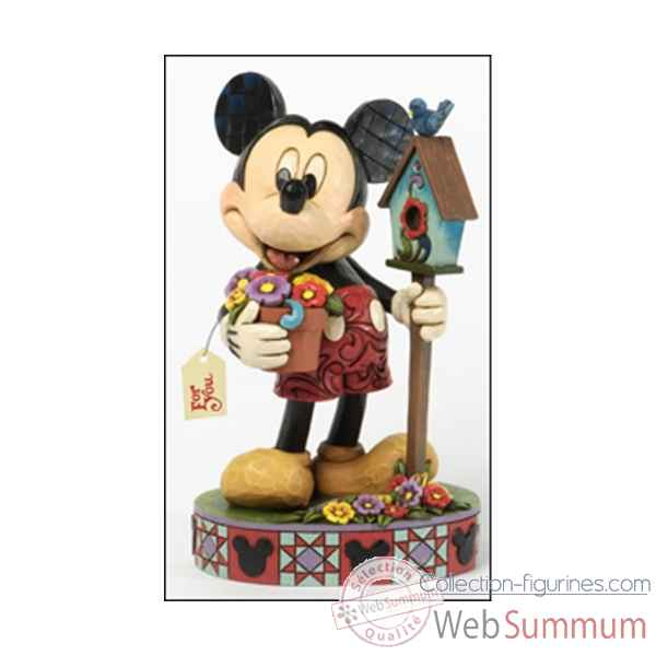 For you mickey mouse Figurines Disney Collection -4037521E