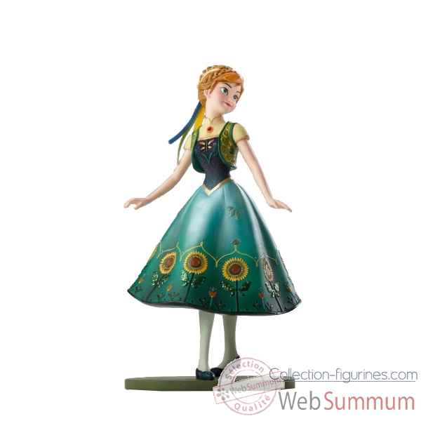 Statuette Frozen fever anna Figurines Disney Collection -4051095