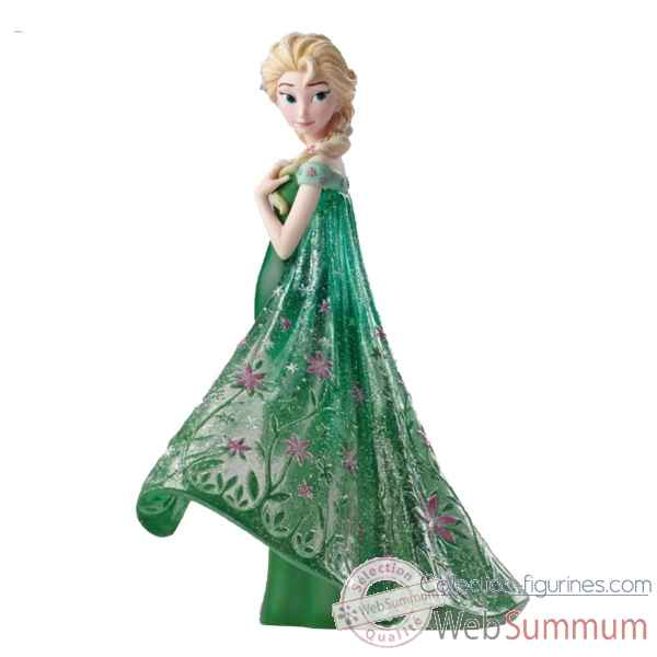 Statuette Frozen fever elsa Figurines Disney Collection -4051096