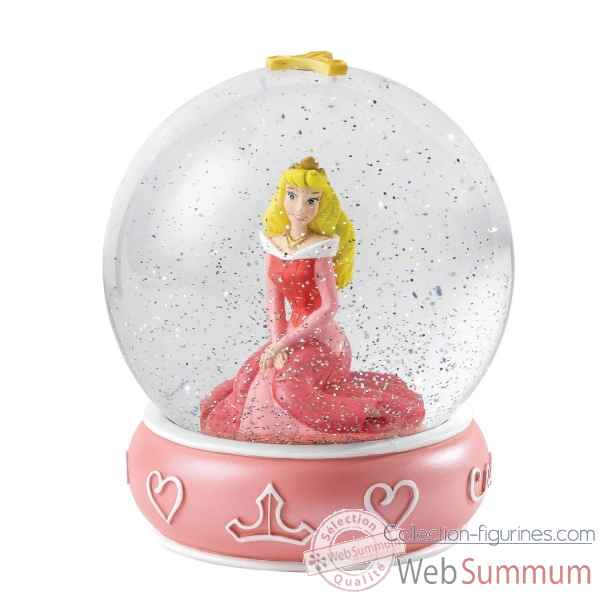 Gentle and gracious (aurora waterball) enchanting dis Figurines Disney Collection -A26970