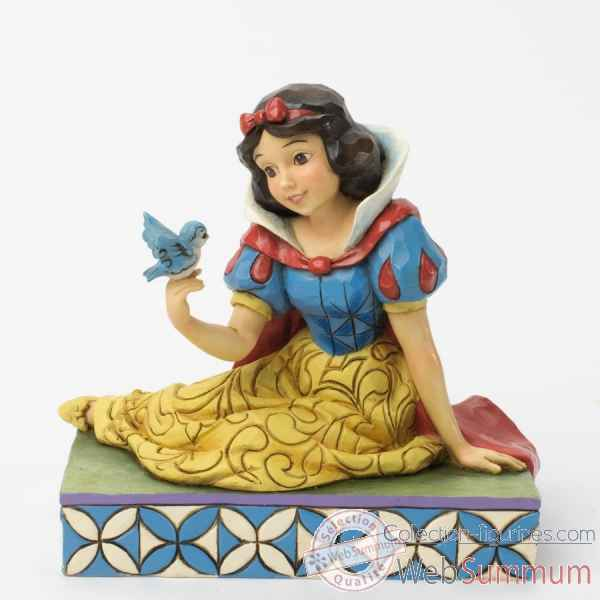 Gentleness & harmony snow white with bird Figurines Disney Collection -4037512