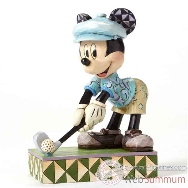 Statuette Hole in one mickey mouse Figurines Disney Collection -4050392