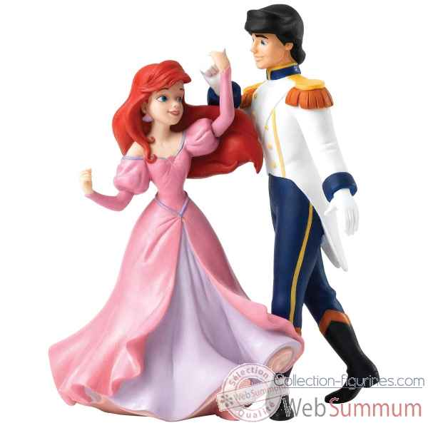 Statuette Isn\'t she a vision ariel et eric Figurines Disney Collection -A27979