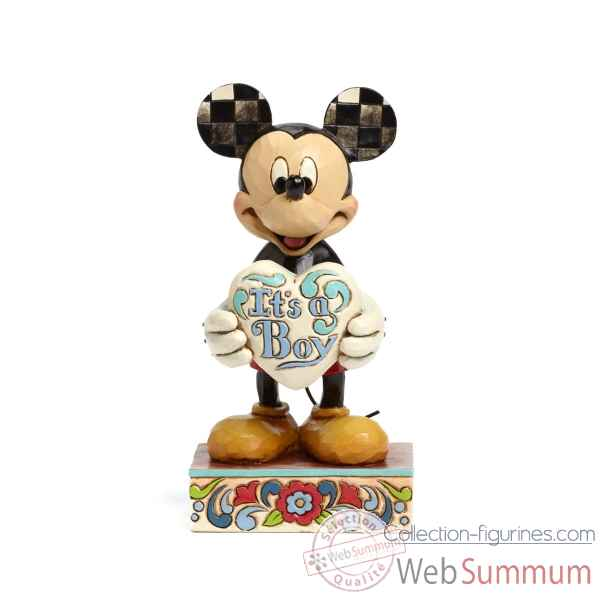It\'s a boy (mickey mouse) Figurines Disney Collection -4043663