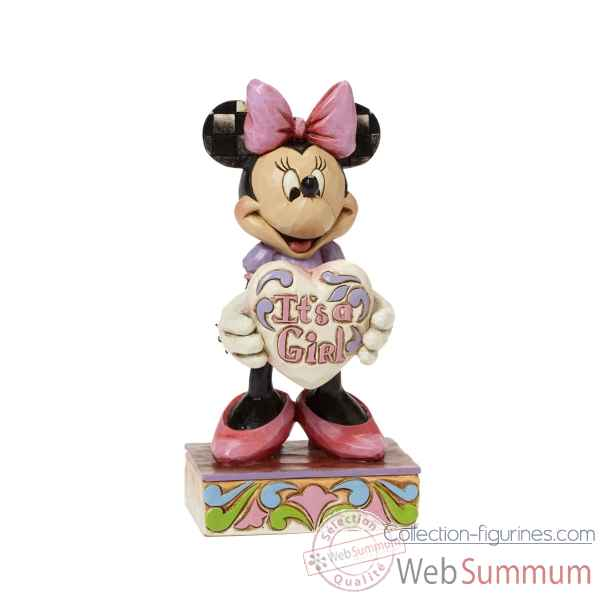 It\\\'s a girl (minnie mouse) Figurines Disney Collection -4043664