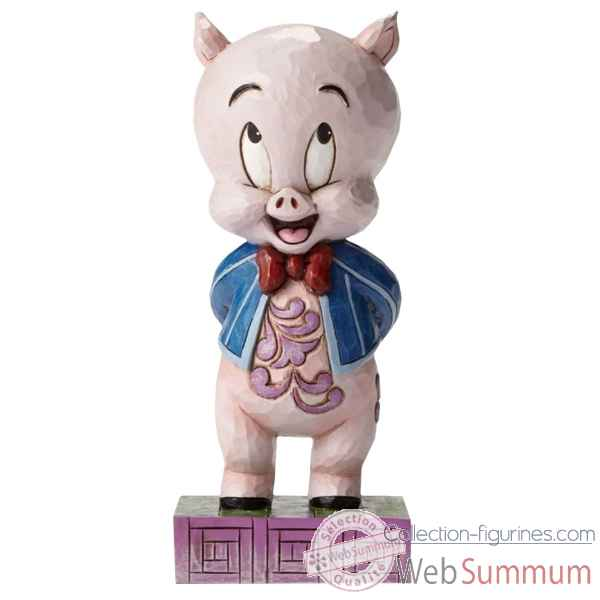 Statuette It\'s ppp porky porky pig Figurines Disney Collection -4049385