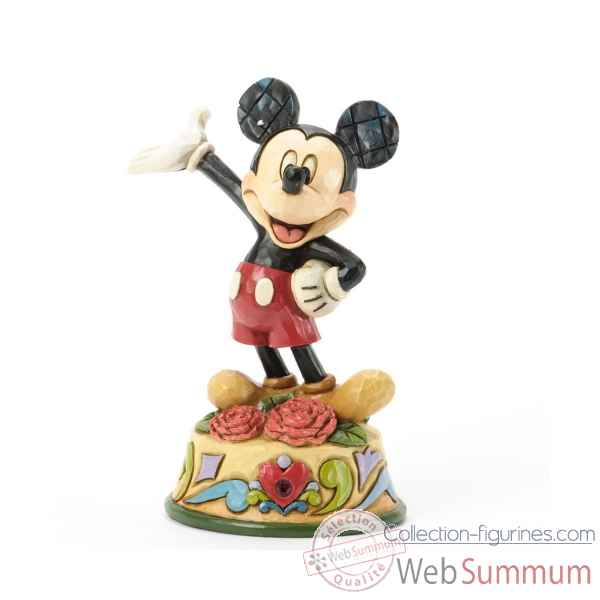 January mickey Figurines Disney Collection -4033958