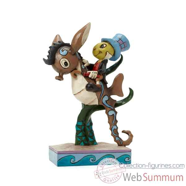 Jimini cricket on sea horse Figurines Disney Collection -4043648