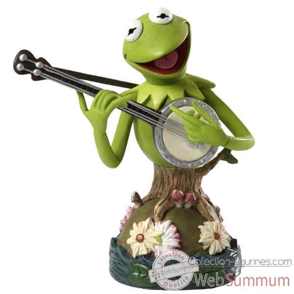 Kermit bust le 3000 grand jester studios Figurines Disney Collection -4035556