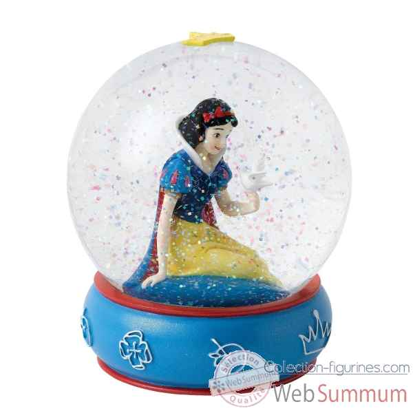 Kind and innocent (blanche neige waterball) enchanting dis Figurines Disney Collection -A26969