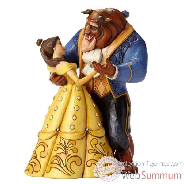 Statuette La belle et la bete qui dansent Figurines Disney Collection -4049619