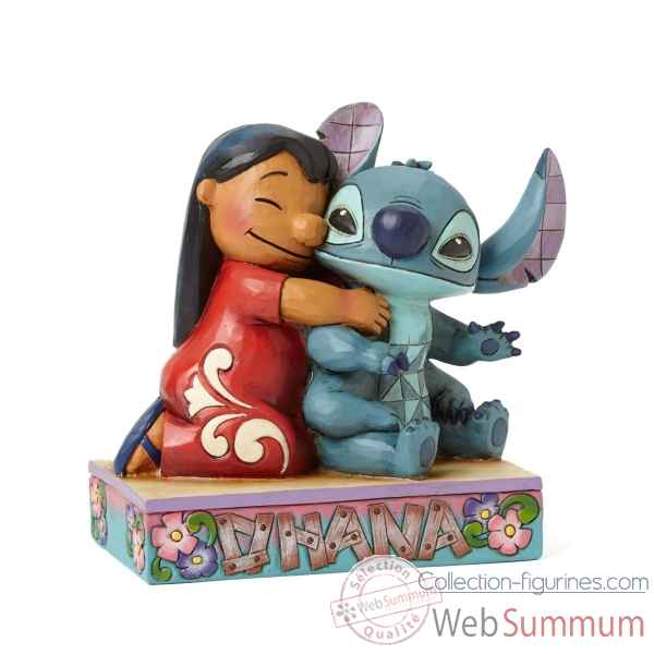 Statuette Lilo et stitch Figurines Disney Collection -4043643