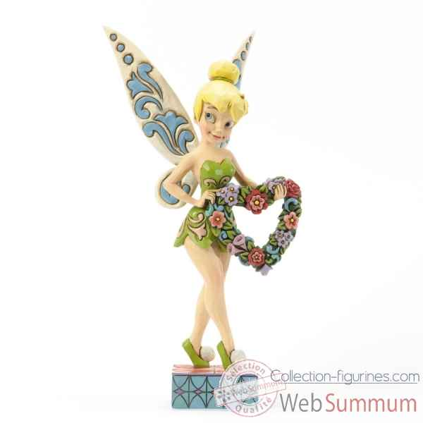Love & best wishes tinker bell Figurines Disney Collection -4037520